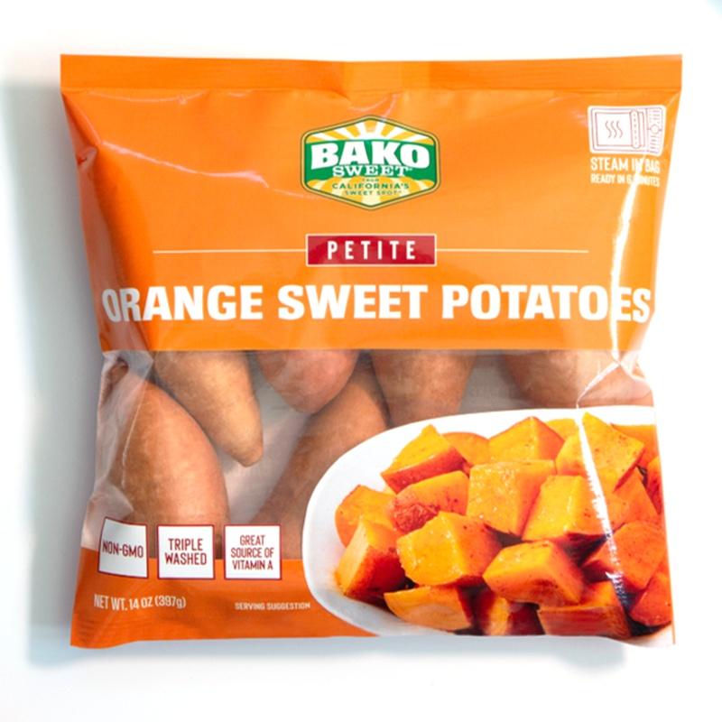 NEW! Orange Sweet Potato Steam Bag