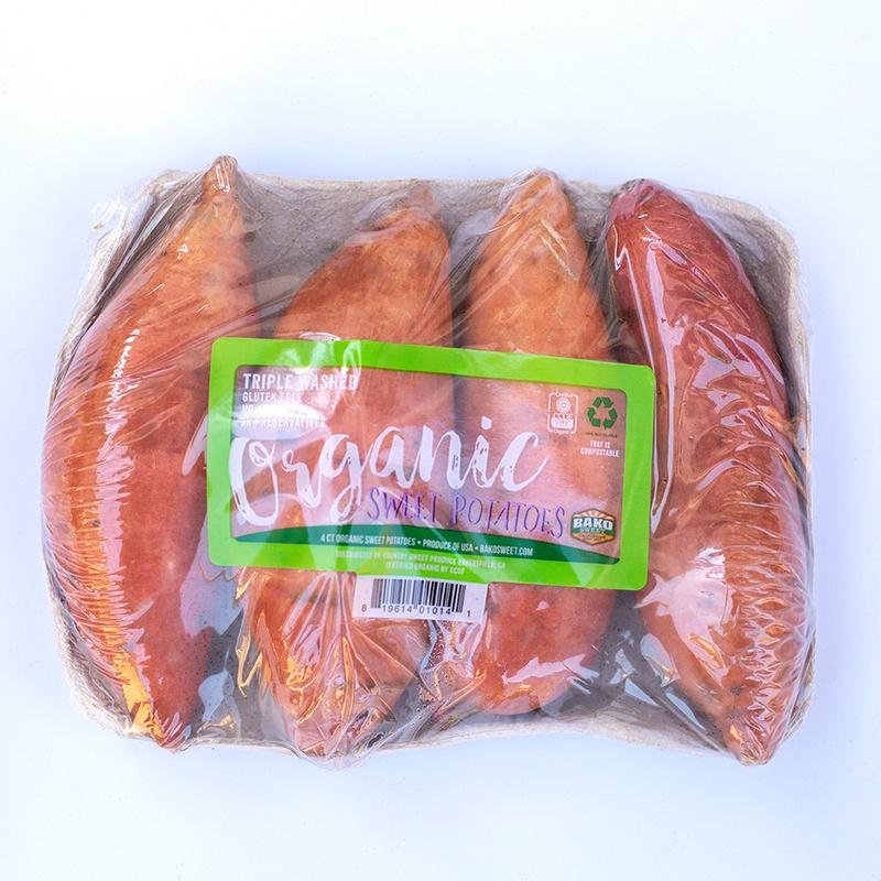 Organic Sweet Potato Tray