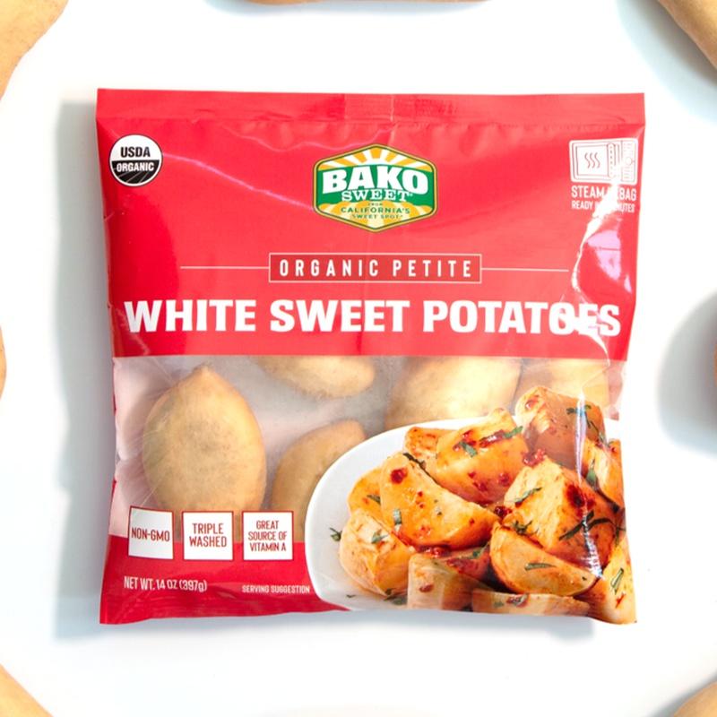 NEW! Organic White Sweet Potato Steam Bag