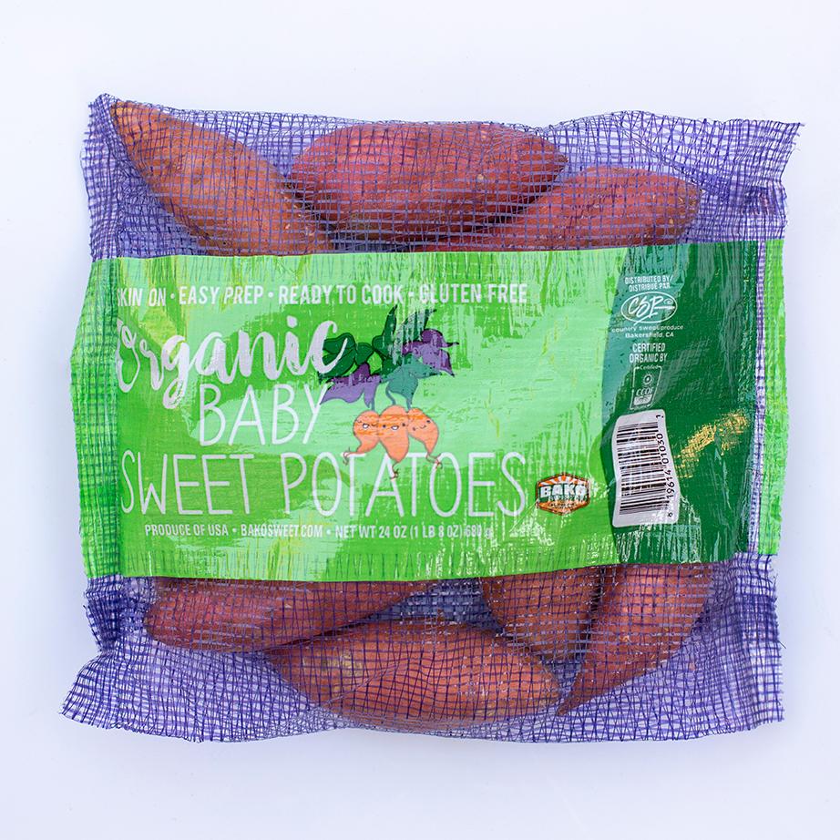 Organic Baby Sweet Potato Bag